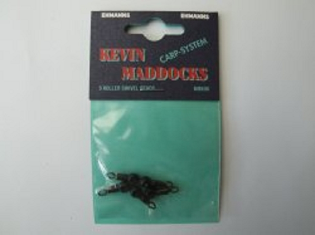 Kevin maddocks roller swivel beads stippkleinteile for Fishing factory outlet