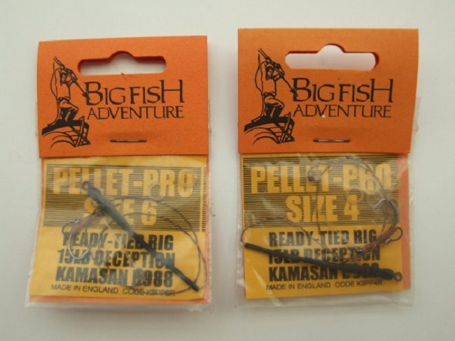 Big fish adventure pellet pro rigs carp rigs for Fishing factory outlet