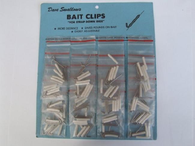 Dave swallows bait clips meeresfischen ausverkauf for Fishing factory outlet